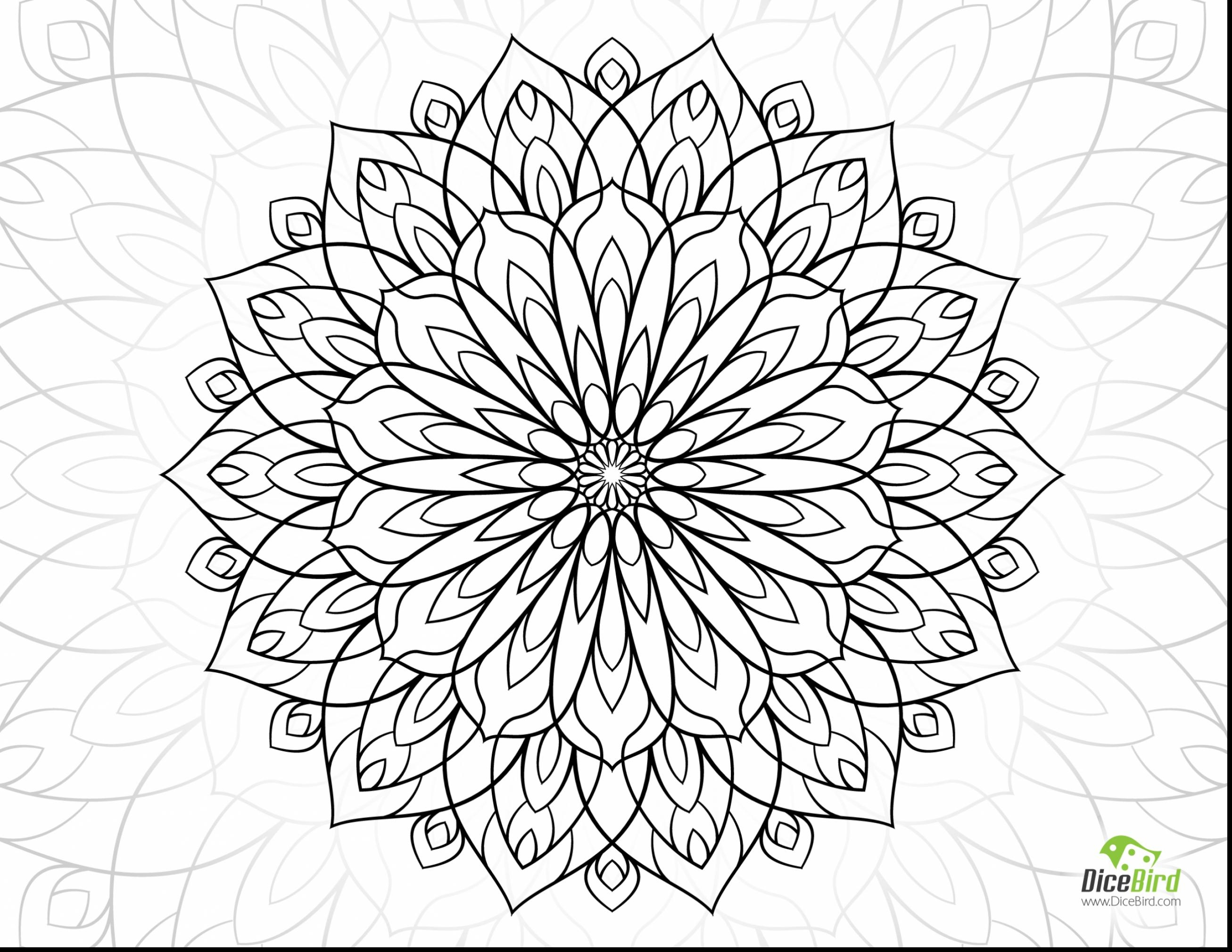 2613x2019 Awesome Stunning Adult Coloring Pages Flowers With Coloring Pages