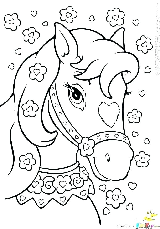 671x963 Free Horse Coloring Pages Black And White Horse Coloring Pages