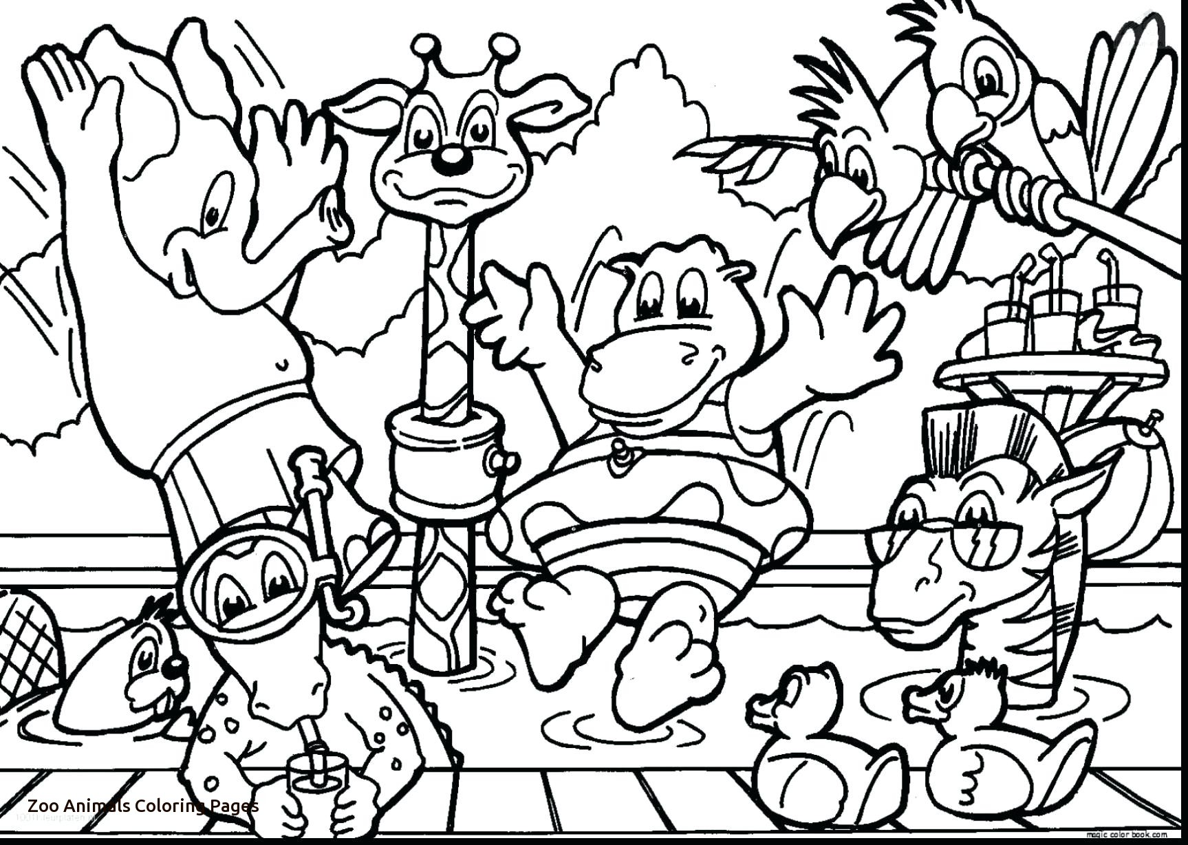 1727x1228 Jungle Animals Coloring Pages With Wallpaper Background Within