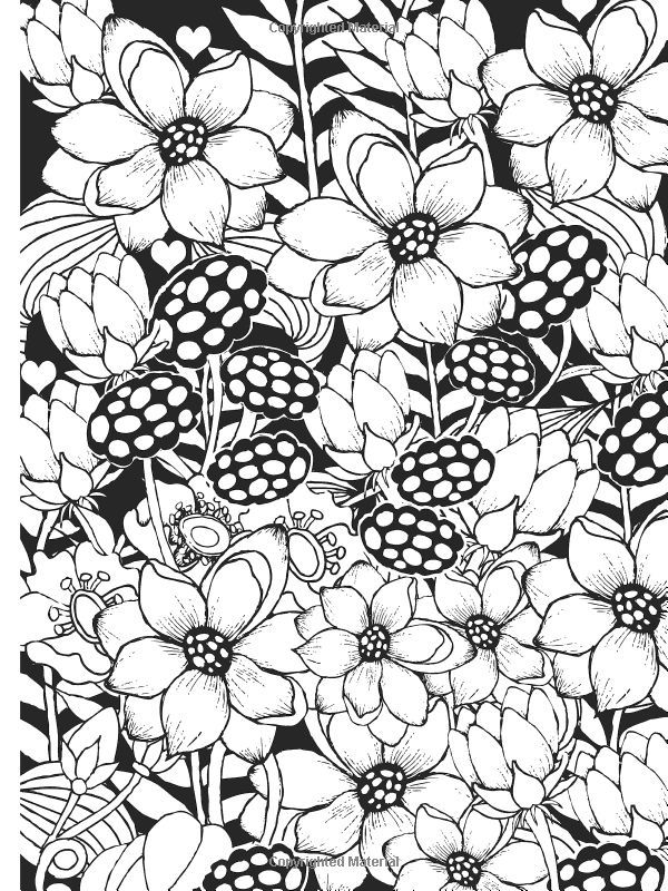 600x800 Midnight Patterns Coloring Pages