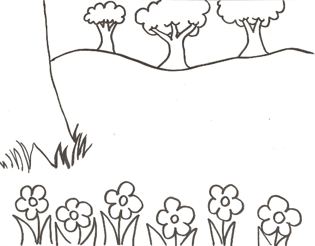 640x500 Bug Sticker Scene Coloring Pages Imagine
