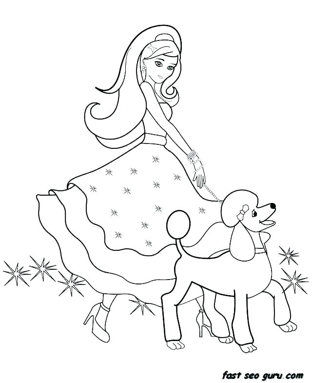 640x785 Barbie Printable Coloring Sheets Barbie Printable Coloring Pages