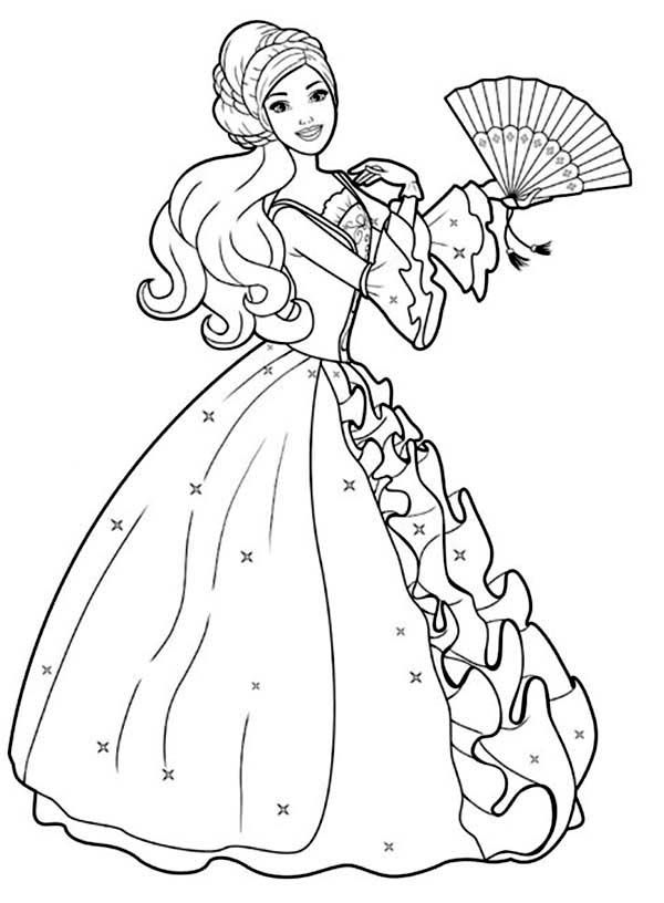 600x816 Amazing Drawing Barbie Doll Coloring Page Coloring Pages