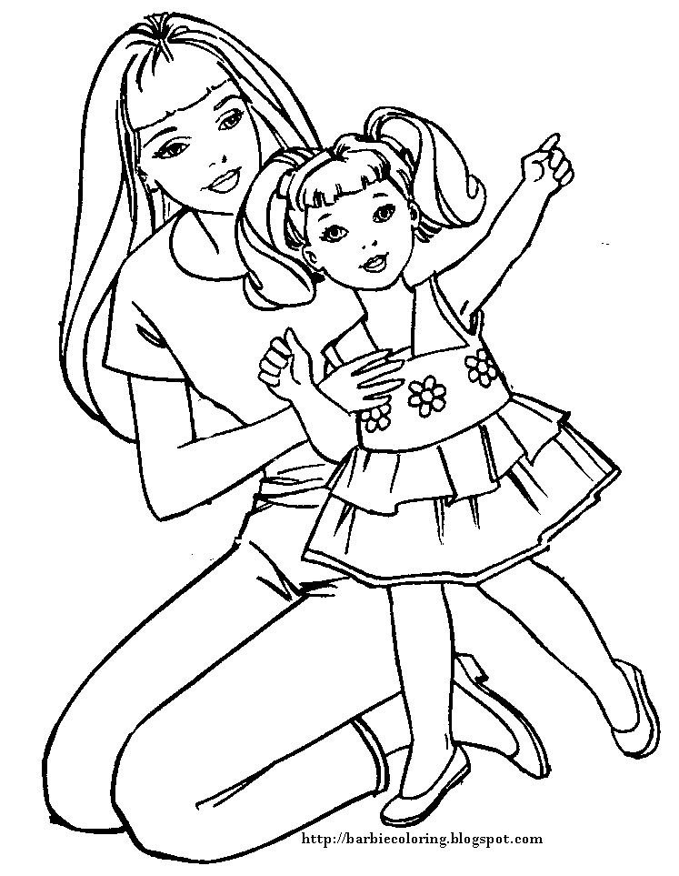 747x963 Barbie Coloring Page Beautiful Barbie Coloring Pages Barbie