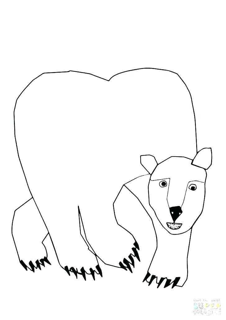 728x1030 Coloring Page Bear Black Bear Coloring Pages Coloring Pages Bears