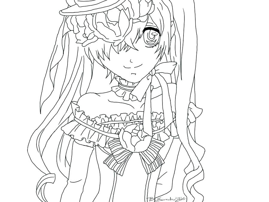 900x676 Black Butler Coloring Pages Luxwatch Club