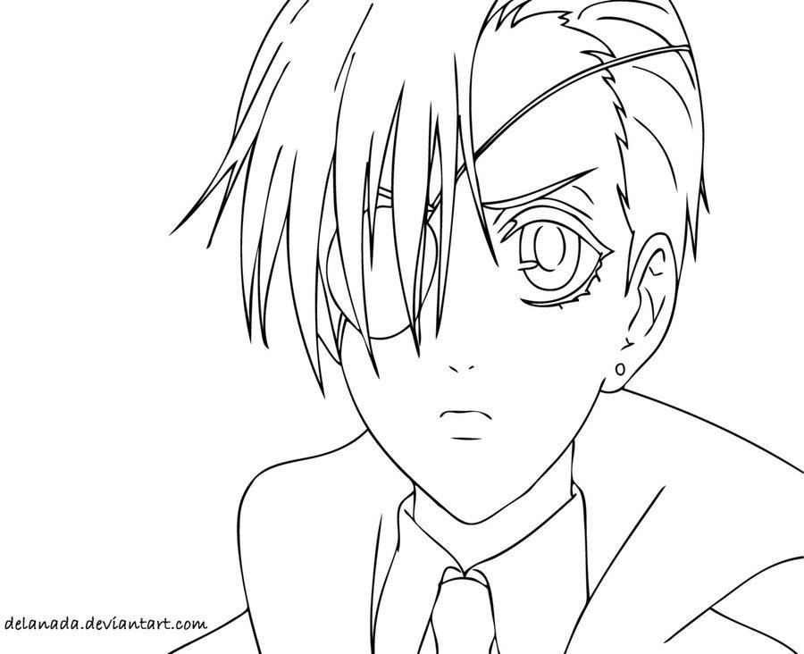 900x732 Black Butler Sebastian X Ciel Hentai Coloring Page Lime Art