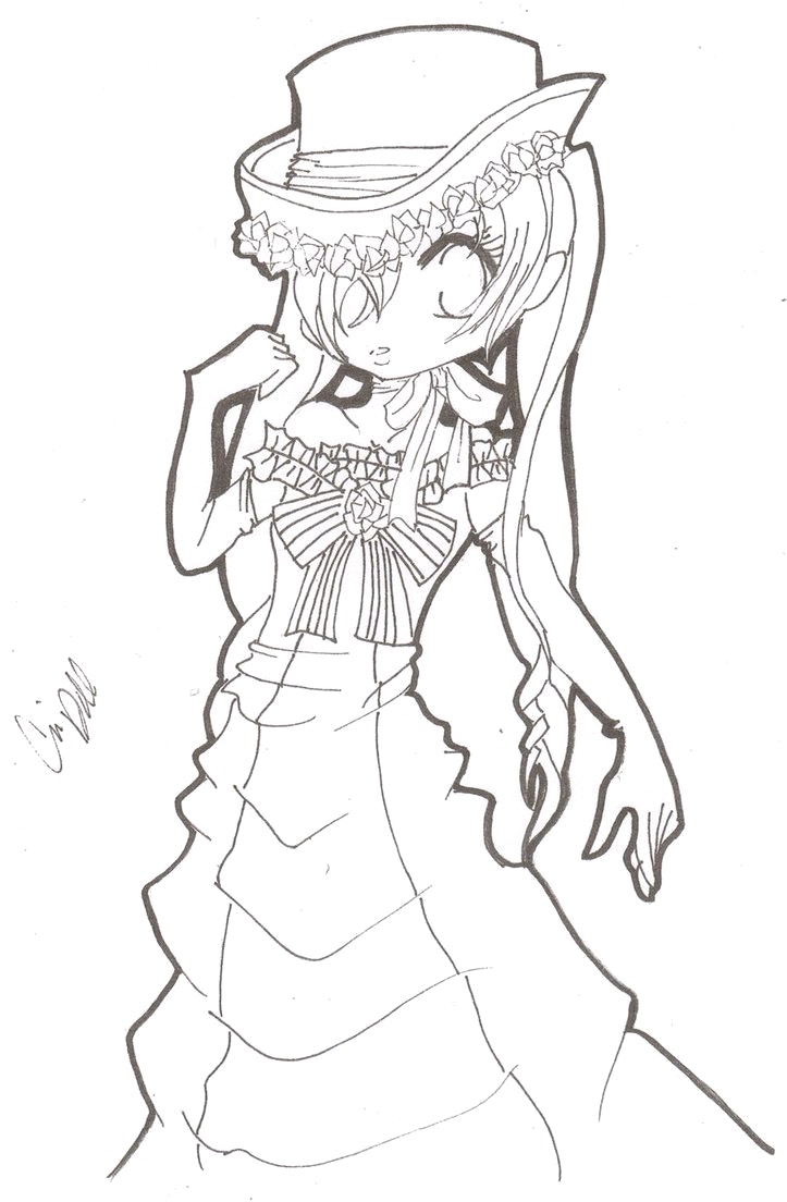 723x1104 Black Butler Coloring Pages