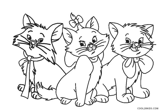 670x459 Free Printable Cat Coloring Pages For Kids