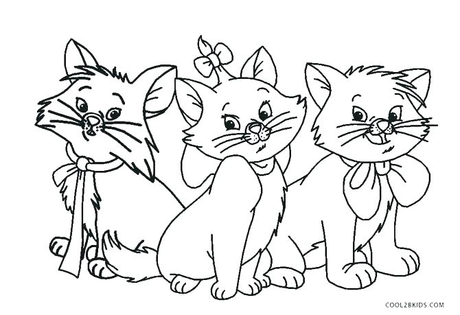 670x459 Cat Coloring Pages Printable