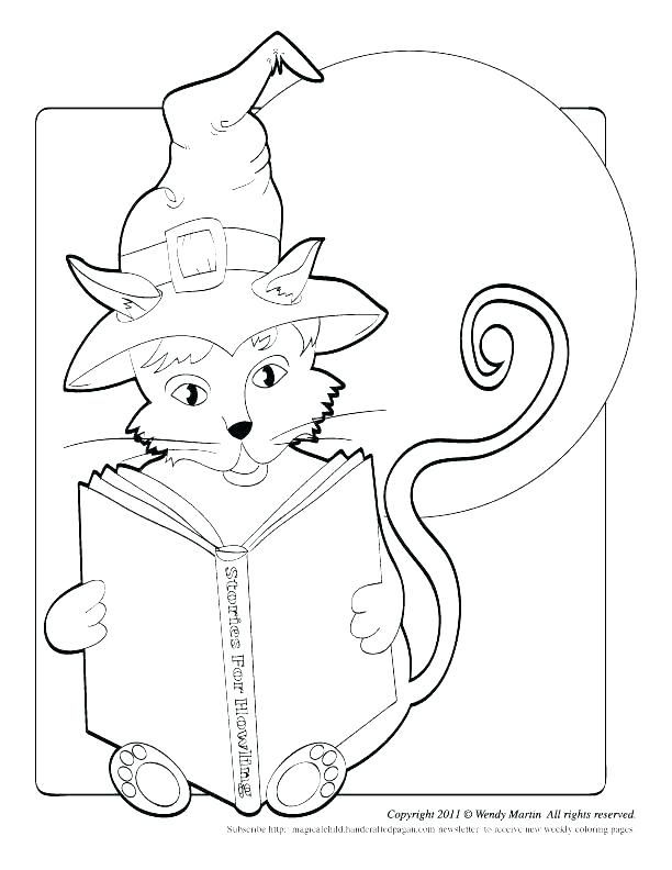 612x792 Cat Coloring Pages