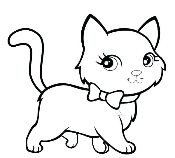 600x542 Black Cat Coloring Page Cat Coloring Page Cats Coloring Pages Free