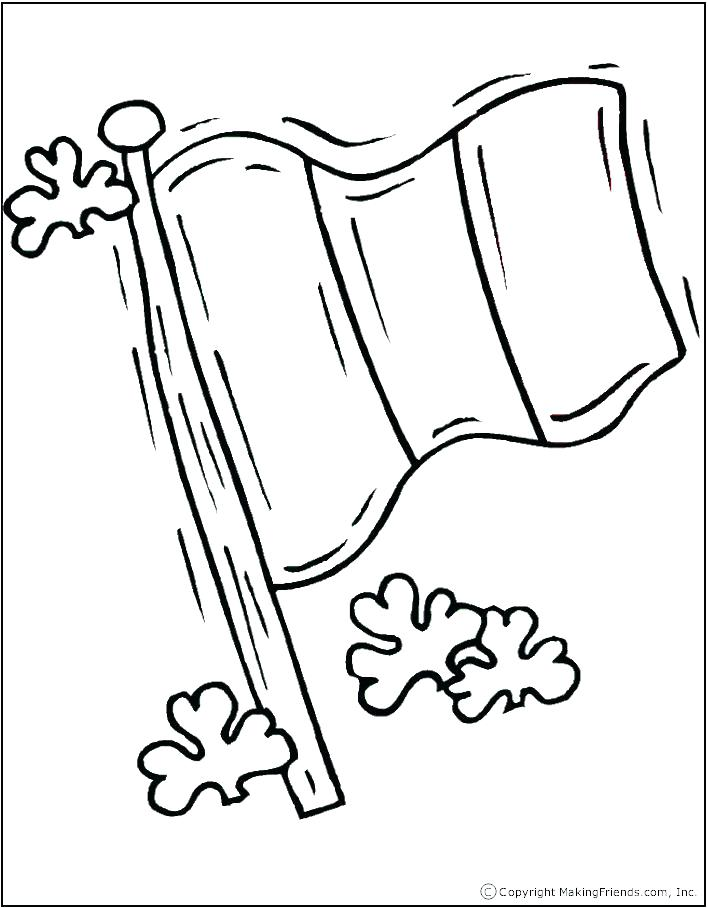 708x908 Brazil Coloring Flag Flag Coloring Page Black White Line Art