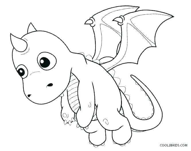 Black Dragon Coloring Pages