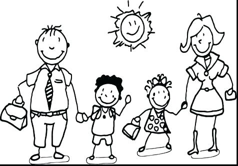 476x333 Family Coloring Pages Coloring Pages Family Family Color Pages