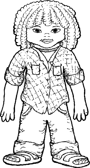 318x590 Girl Coloring Pages Coloring Pages To Print