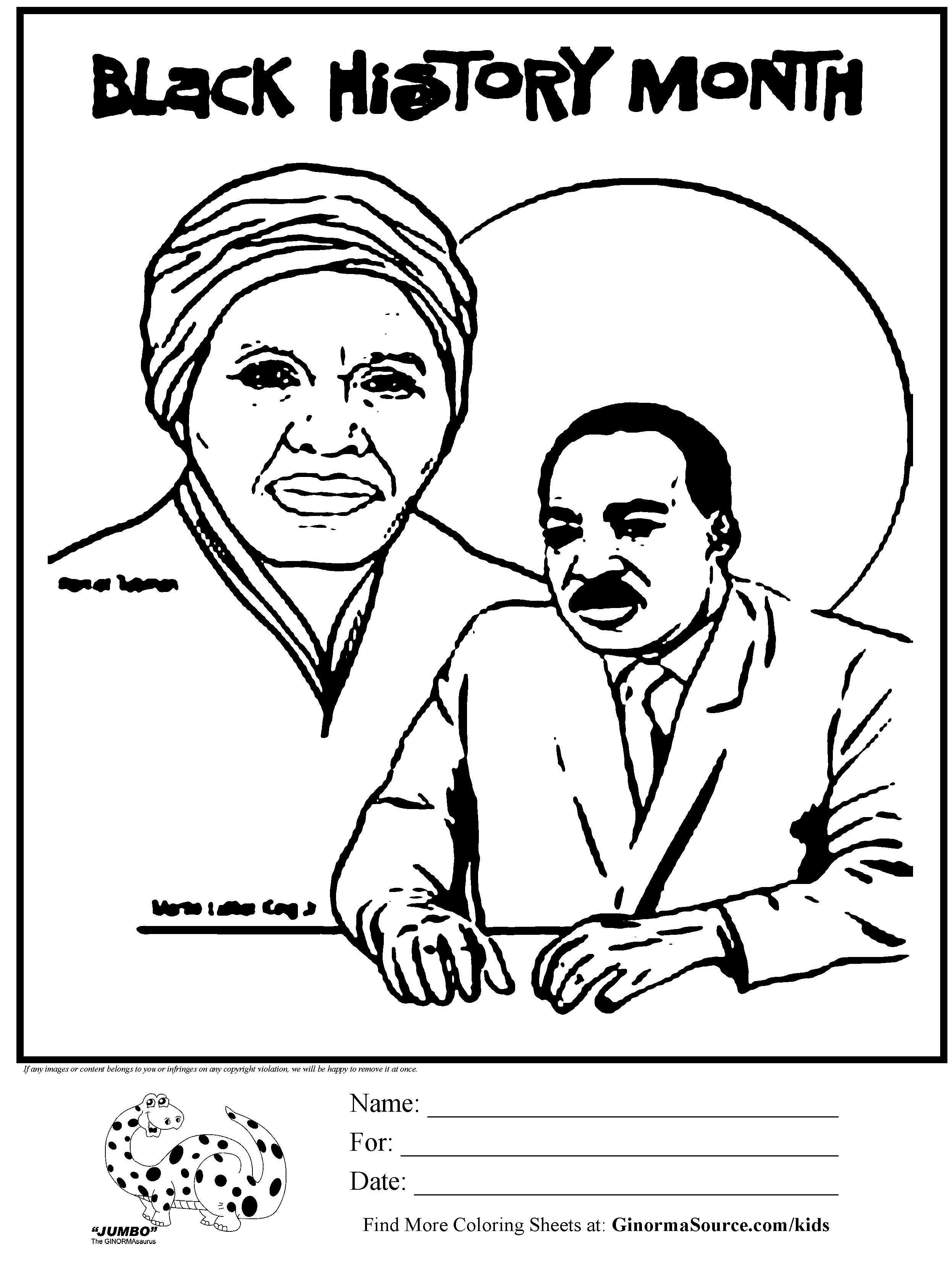 2493x3310 Black History Coloring Sheets