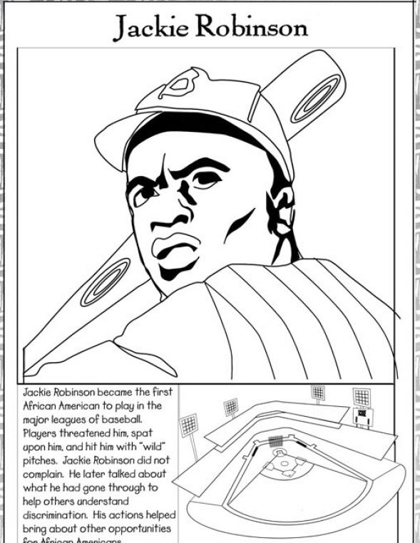 589x762 Black History Month Coloring Pages