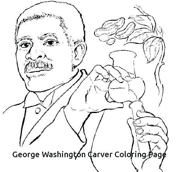570x557 Coloring Page George Washington Coloring Pages Printable Awesome