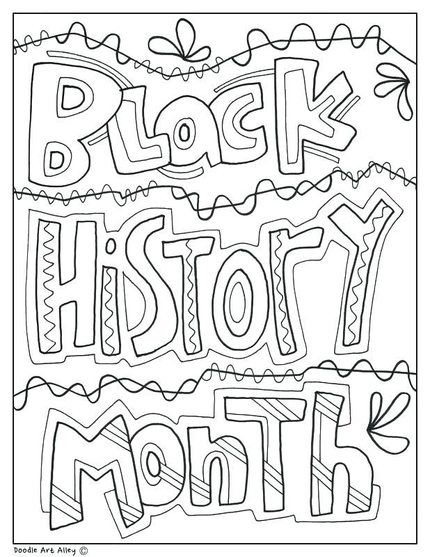 Black History Coloring Pages At Getdrawings Com Free For Personal