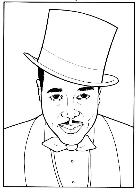 536x738 Black History Month Coloring Pages Black History Coloring Pages