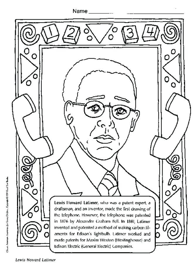 658x900 Black History Month Coloring Book Black History Coloring Pages