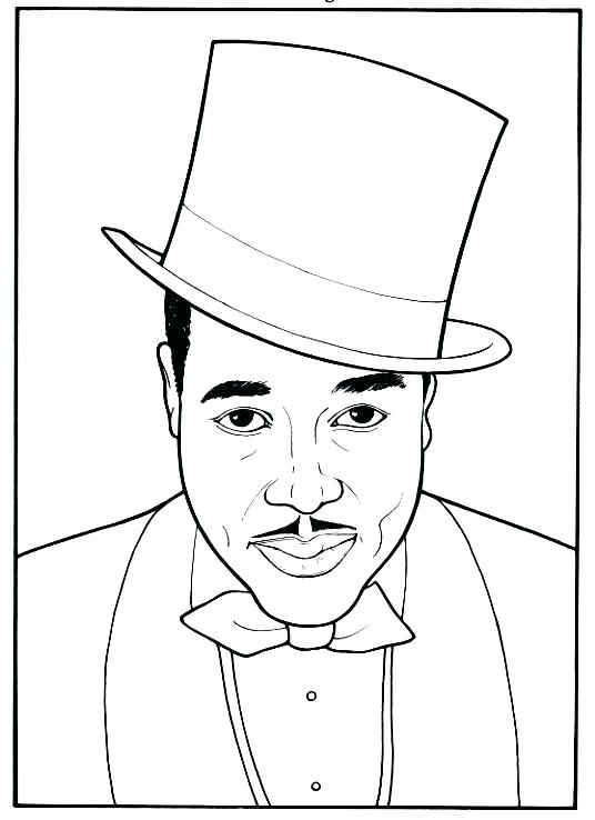 536x738 Coloring Figures Black History Coloring Pages Black History Month