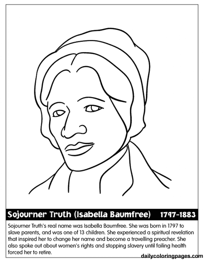 807x1024 Unconditional Black History Month Preschool Coloring Pages Book