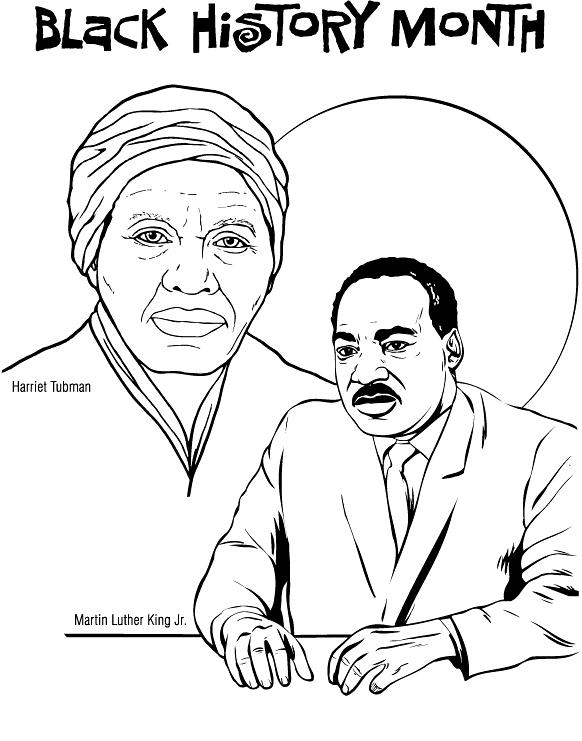 582x741 Black History Month Printables