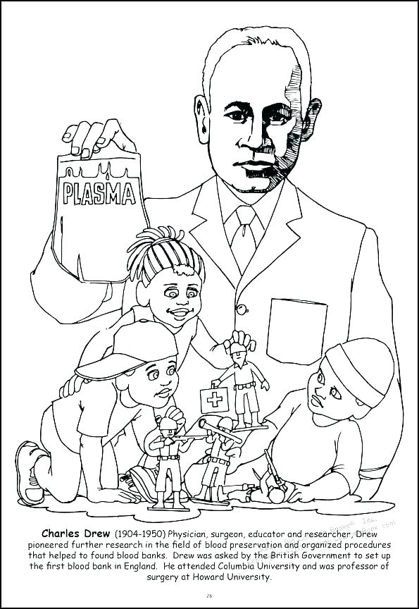 595x864 Coloring Pages For Black History Month Lovely Black History Month