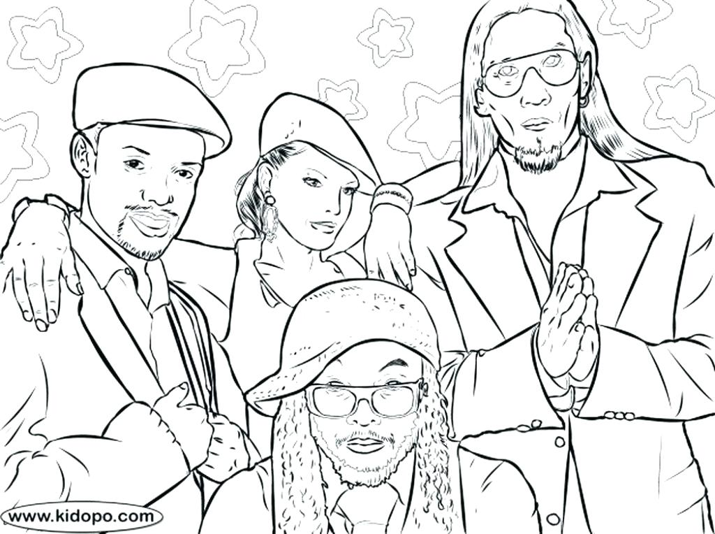 1024x764 Black History Coloring Pages Black History Month Printable