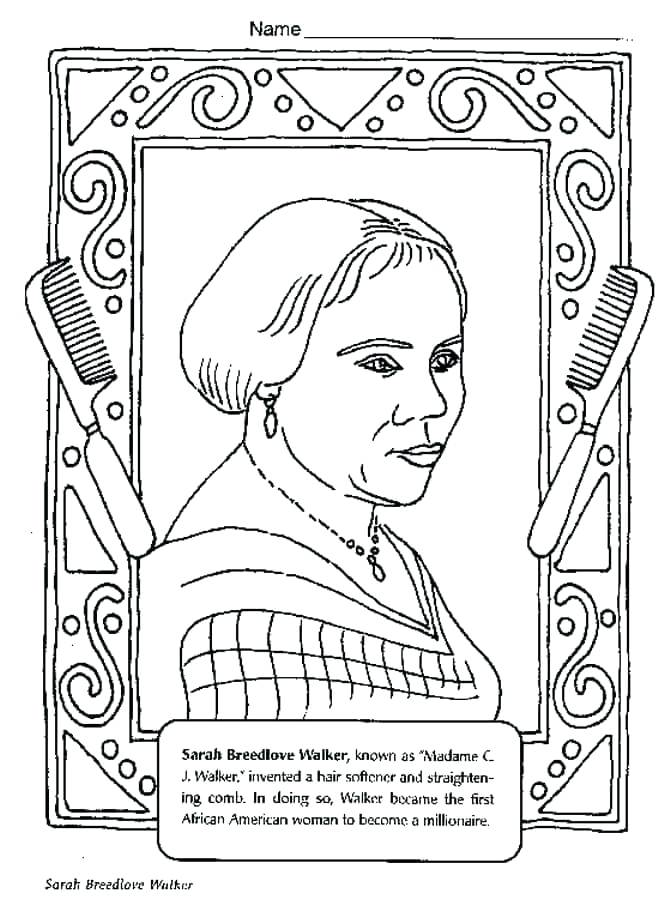 Black History Printable Coloring Pages at GetDrawings.com ...