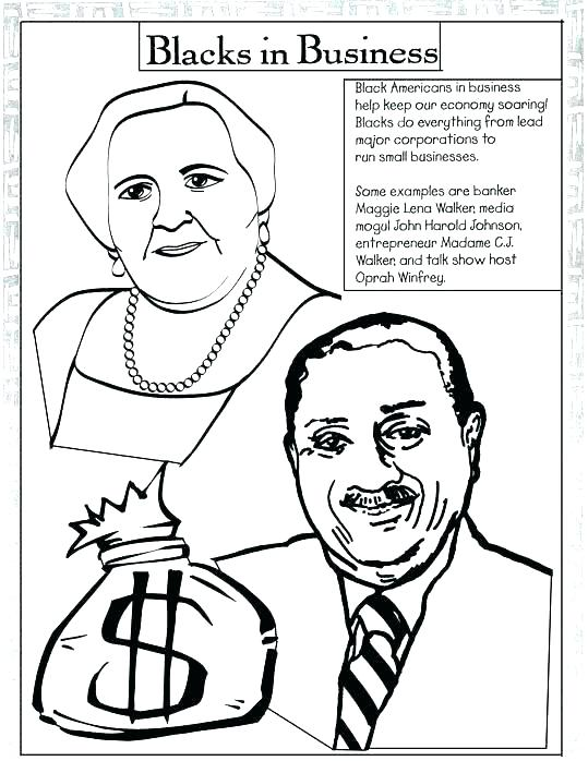 539x698 Black History Month Coloring Pages Black History Month Coloring