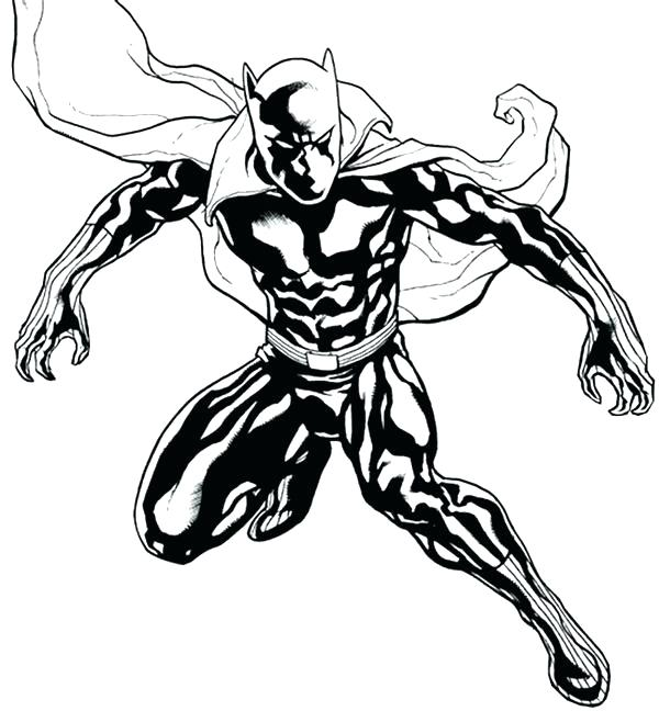 600x648 Panther Coloring Page Panther Coloring Page Black Panther Coloring