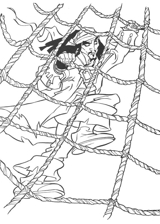 553x773 Activity Jack Sparrow And The Black Pearl Coloring Pages