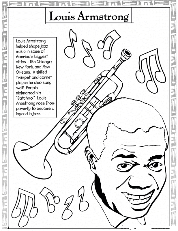617x800 Free Printable Black History Month Coloring Pages