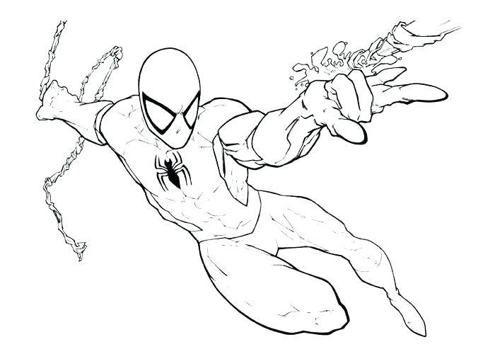 700x500 Spiderman Coloring Pages Printables Black Coloring Pages Spiderman