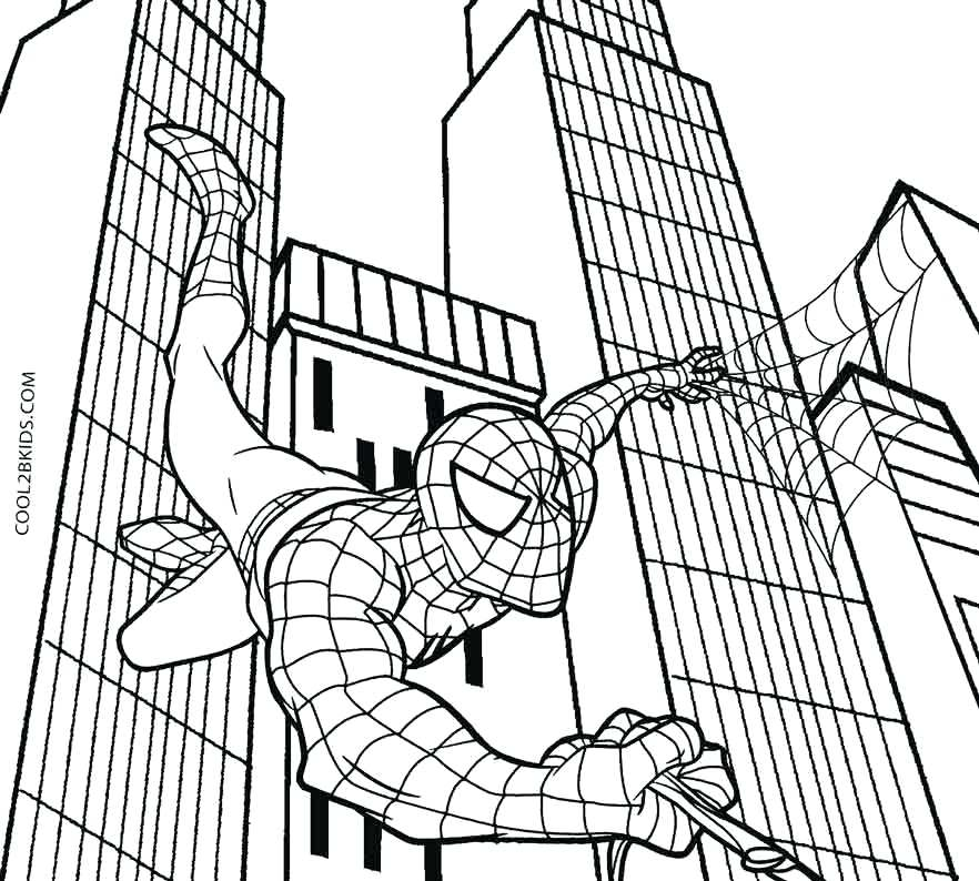 882x794 Black Spiderman Coloring Pages Coloring Pages Colouring To Cure