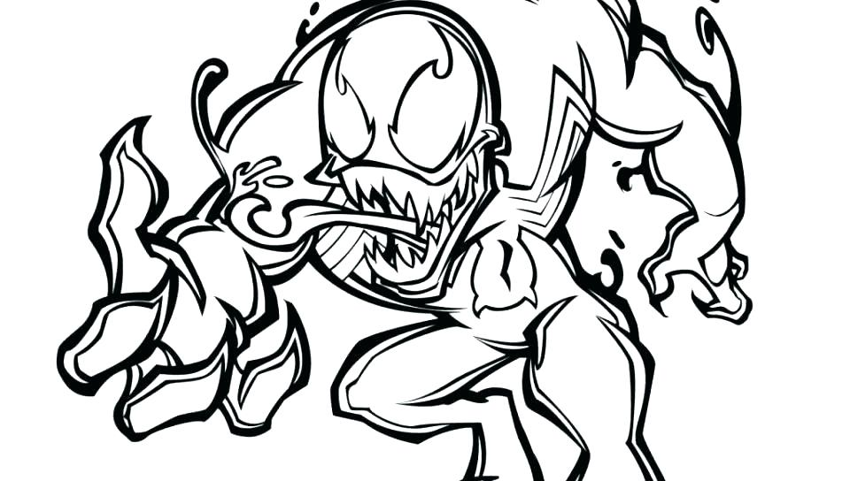 960x544 Spiderman Coloring Pages