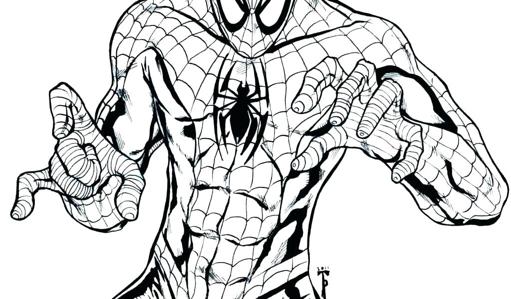 1024x600 Black Spiderman Coloring Pages Coloring Pages Plus Coloring Pages