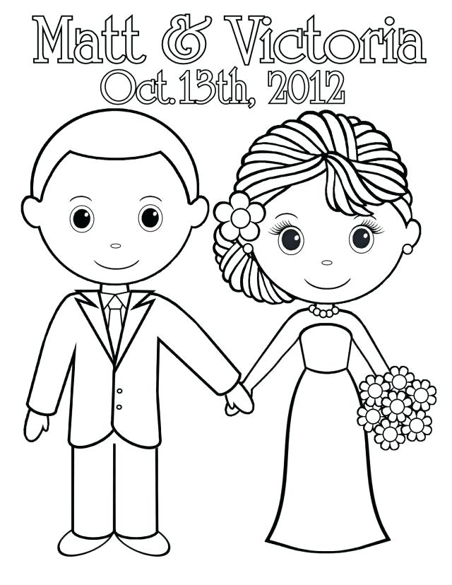 640x828 Free Printable Wedding Coloring Pages Wedding Coloring Book Pages