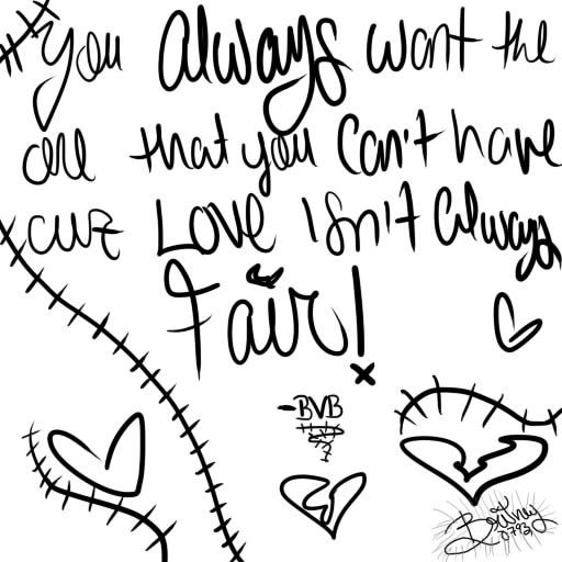 512x512 Love Isn't Always Fair