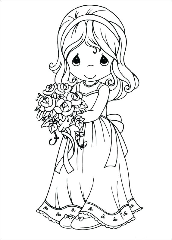 571x800 Trend Bride And Groom Coloring Pages On Coloring Print With Trend