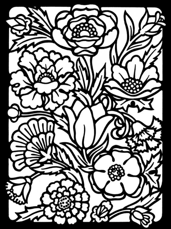 Black Velvet Coloring Pages