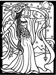 236x314 Trippy Coloring Pages Fairy Unicorn Fuzzy Velvet Poster Hippie