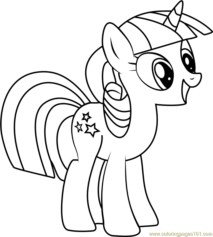 719x800 Twilight Velvet Coloring Page