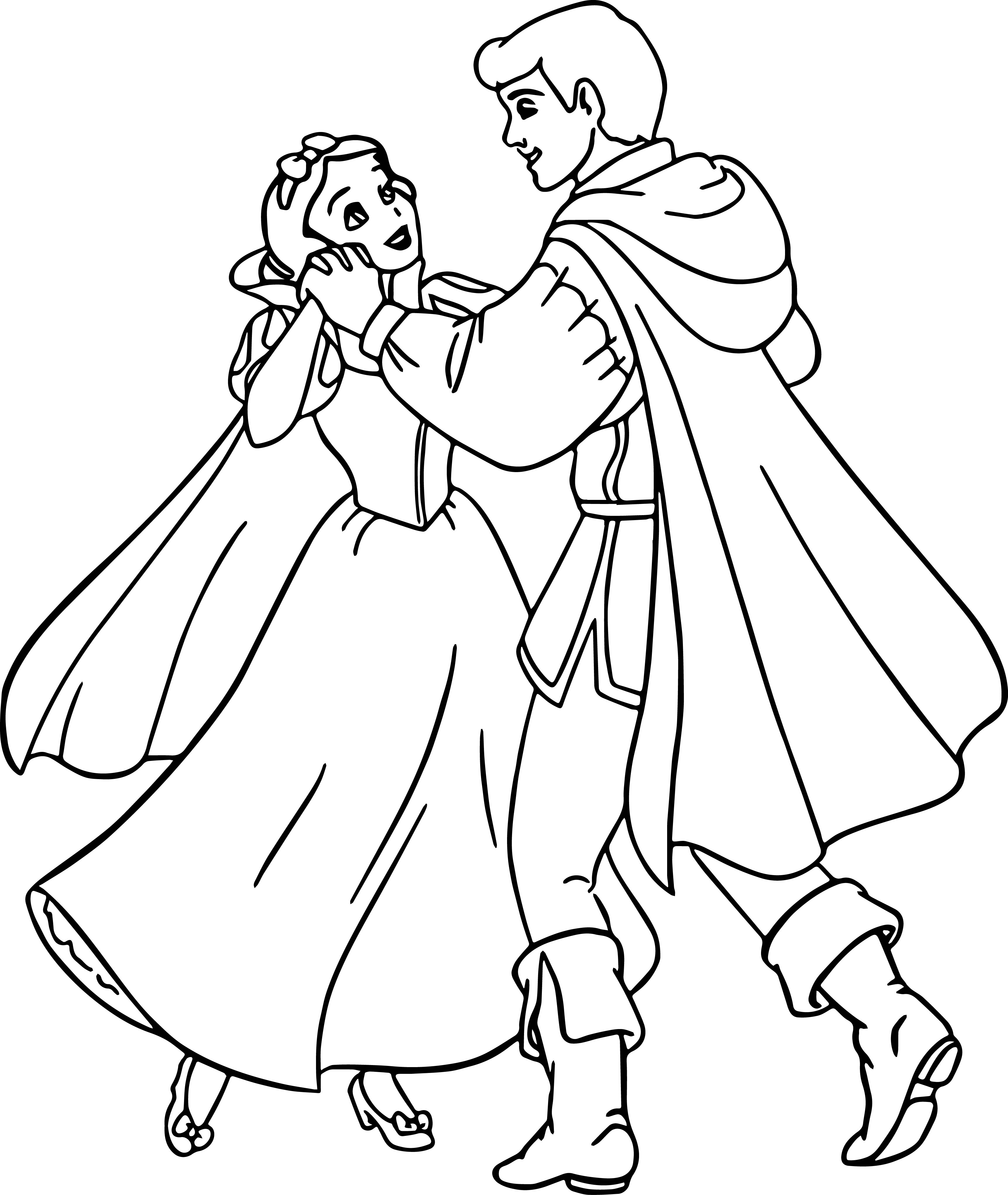 3445x4083 Snow White Coloring Pages