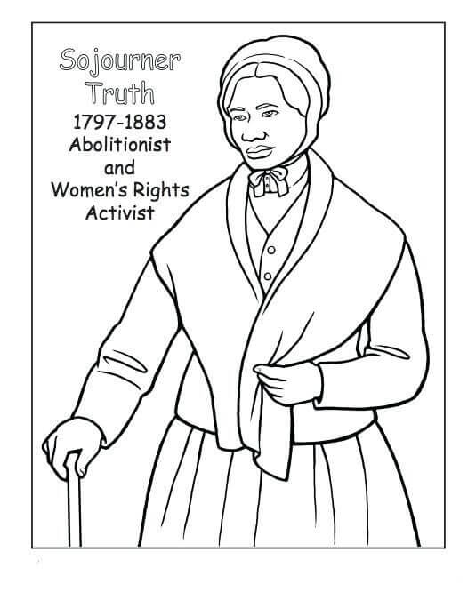 Black Women Coloring Pages