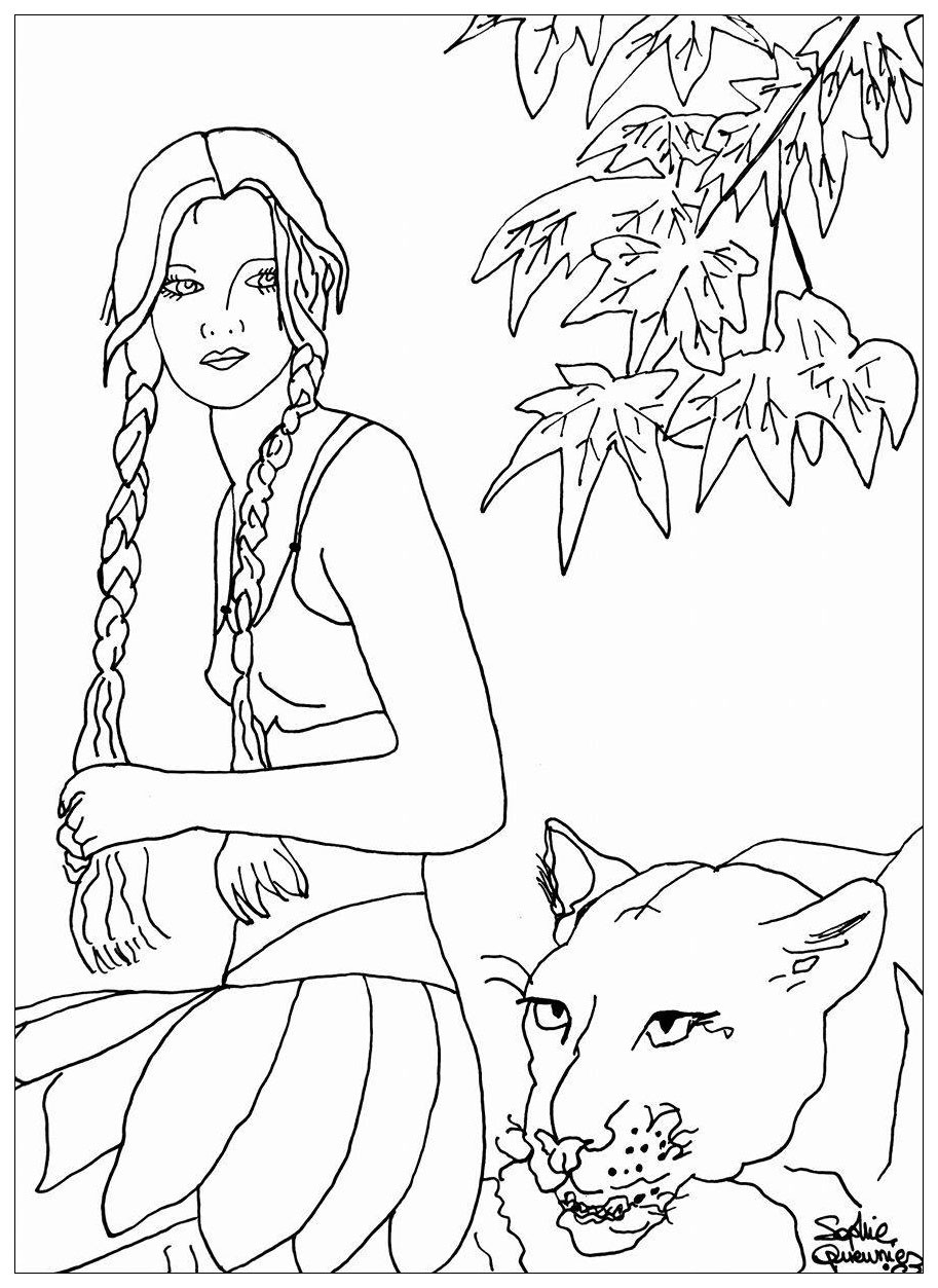 913x1253 African Queen Coloring Pages New Best Of Stock Vector American