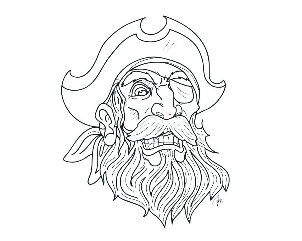 Blackbeard Coloring Pages